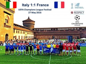 Festival Champions League 2016 France Italie