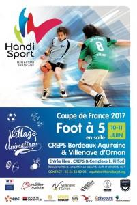 Affiche Tournoi Handisport Talence 2017