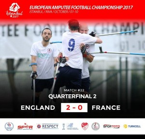 Coupe d'Europe 2017 Angleterre - France