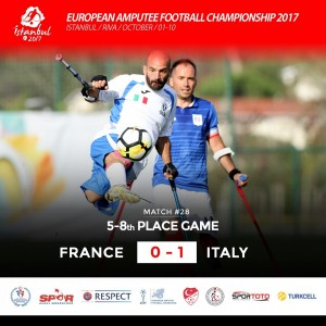 Coupe d'Europe 2017 Italie - France